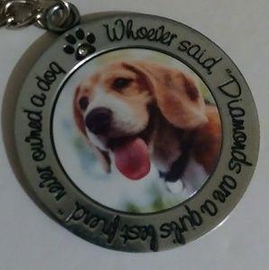 Jewelry - Dog Beagle Keychain or Purse Accessory